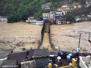 Bridge Inundated