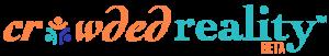 crowded reality logo header